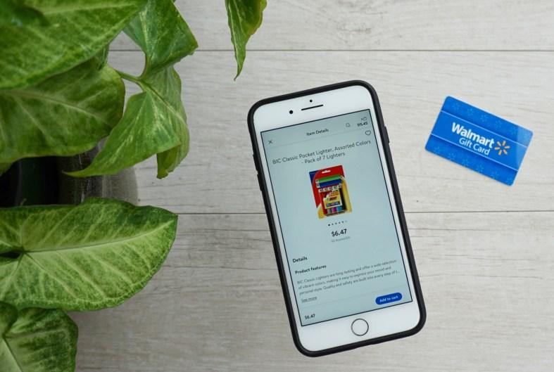 Walmart Online grocery service