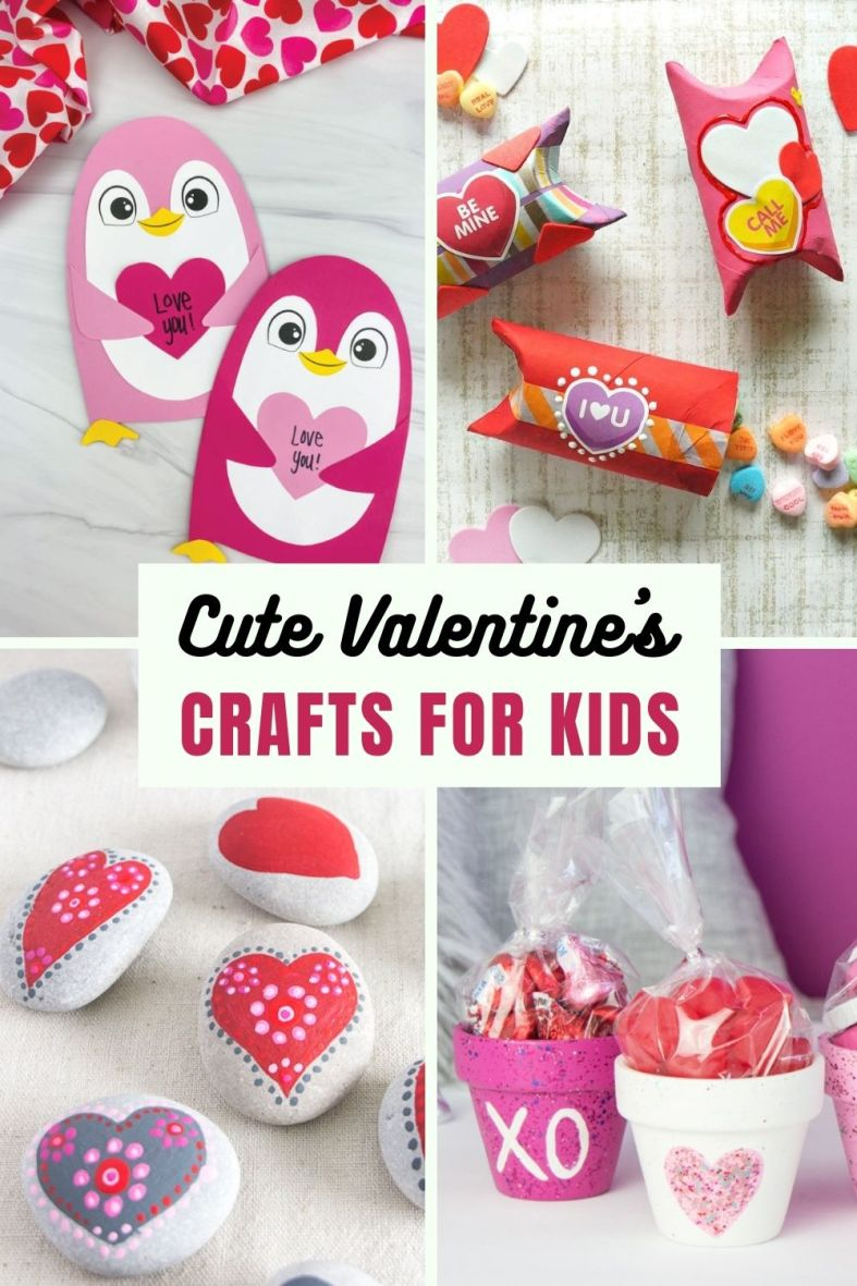 Cute Valentines Crafts for Kids