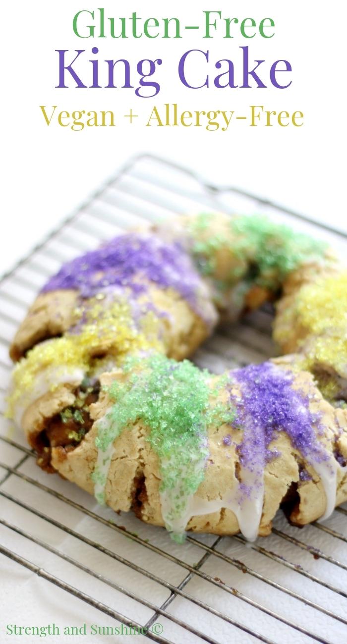 Gluten Free King Cake Vegan Allergy Free