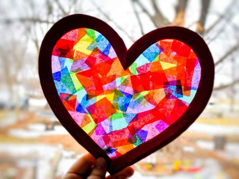 Heart-Suncatchers