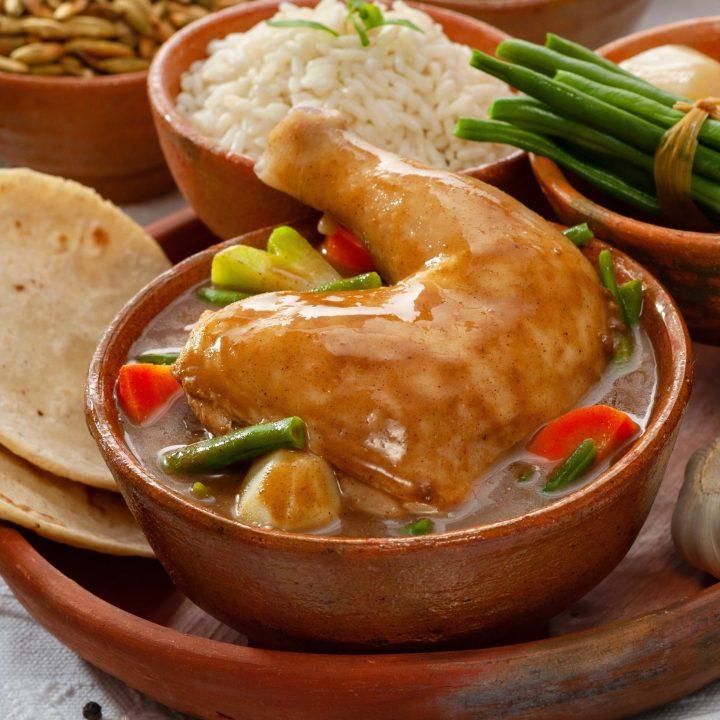 Chicken pepian from Guatemala