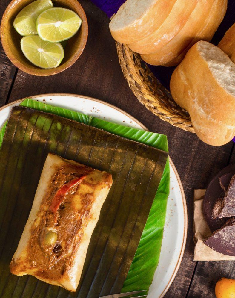 Guatemalan tamal colorado recipe