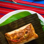 the best guatemalan tamales colorados, a traditonal dish for Christmas and saturdays