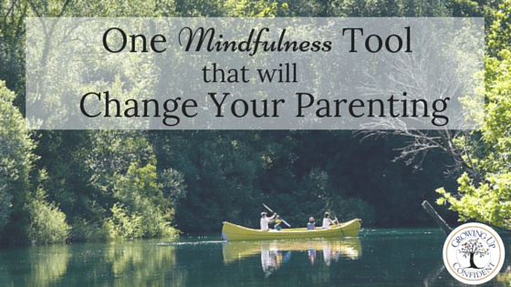 One Mindfulness Tool that will change your parenting