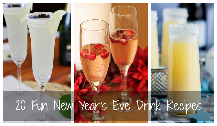 20 Fun New Year s Eve Drink Recipes Browse  Home      Family Recipes  20 Fun New Year s Eve Drink Recipes