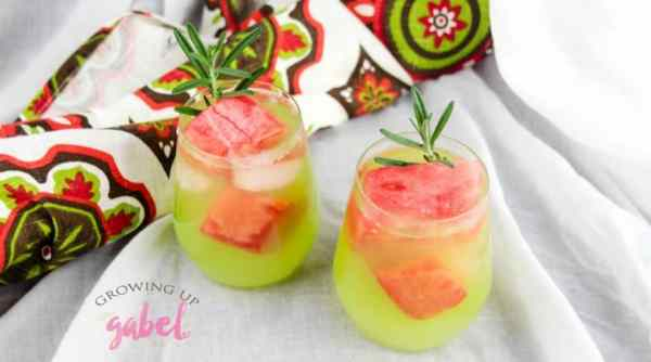 Double Watermelon Vodka Lemonade