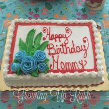 My birthday.