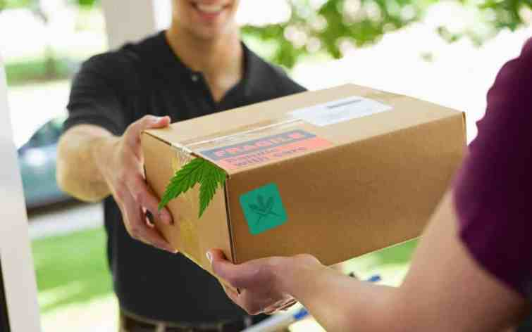 delivery of weed