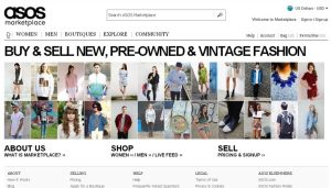 Alternatives to eBay- Asos