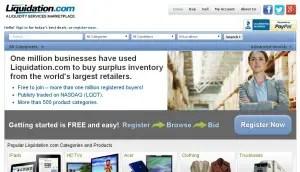 Alternatives to eBay- Liquidation.com