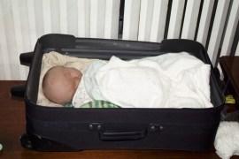 Elijah's bed for a few weeks