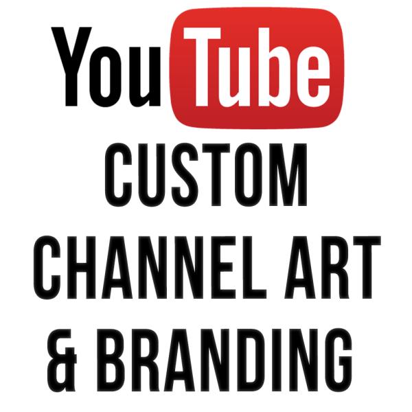 custom CHANNEL ART AND BRANDING | GROW ON YOUTUBE