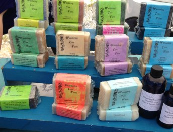 Soap from Wandering Cow Farm