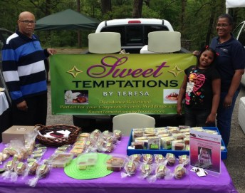 Sweet Temptations at South of the James Market