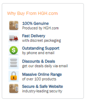Shipping Details Growth Factor Plus