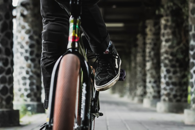 Ride a bicycle to promote height growth