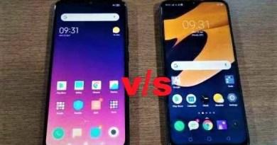 Oppo Realme 3 Pro vs Xiaomi Redmi Note 7 Pro