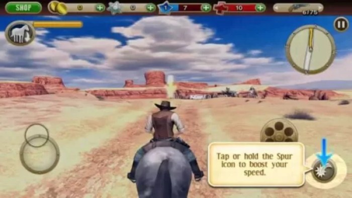 Cowboy Android Game