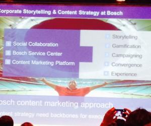 Content Strategy bei BOSCH