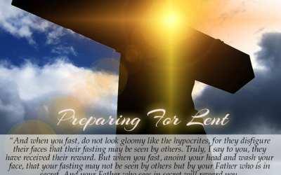 Preparing For Lent!
