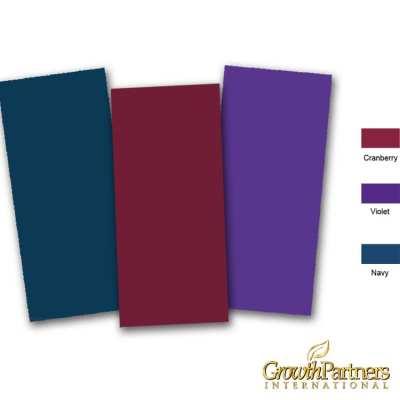 4x9 blank folder colors