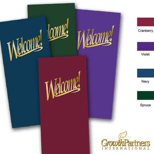 4x9 welcome folder colors