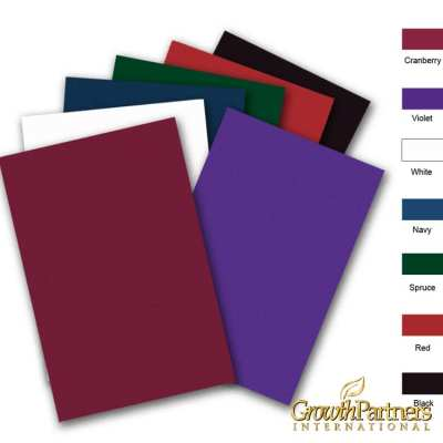 6x9 blank folder colors