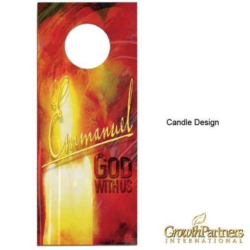 candle door hanger design