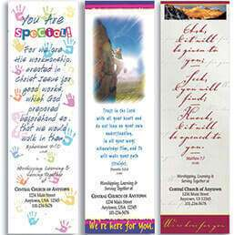 Church Bookmarks