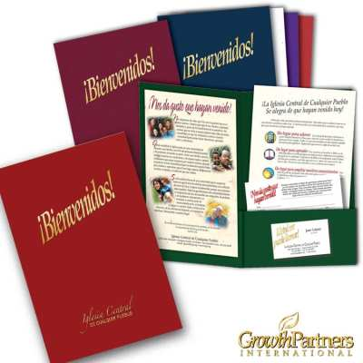 Custom 6x9 spanish folder package