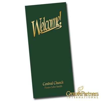 custom 4x9 welcome folder