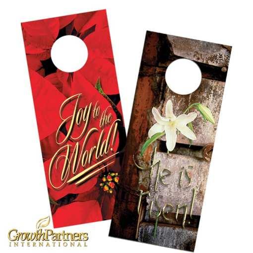 holiday door hangers