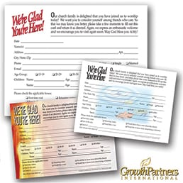Registration and Prayer Cards