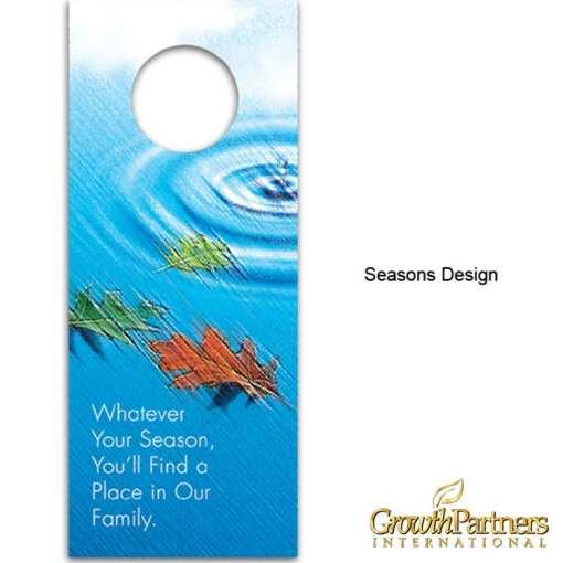 Seasons design door hanger