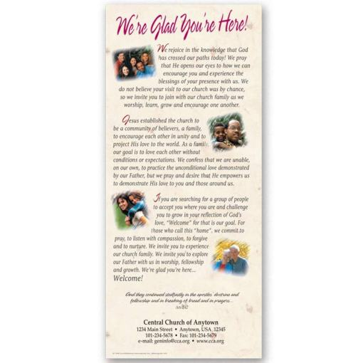 slim we're glad you're here leaflet