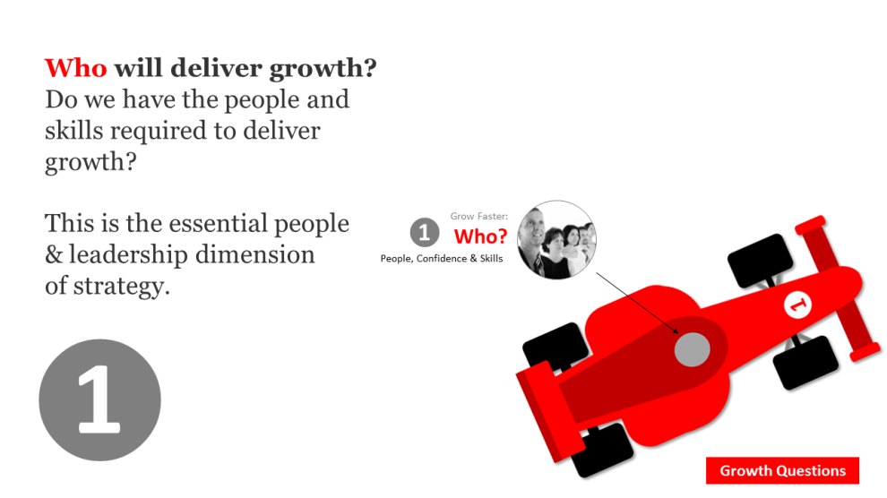 Who will deliver growth?
