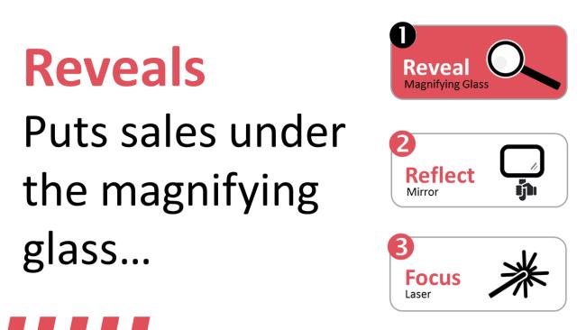 Revealing hidden aspects of sales performance