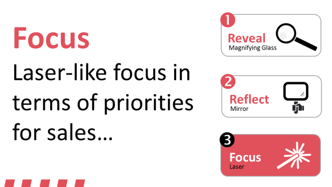 Focusing on key  priorities