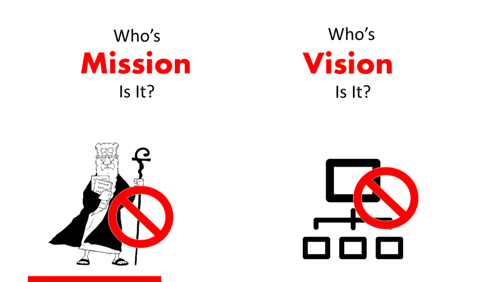 whose vision is it?