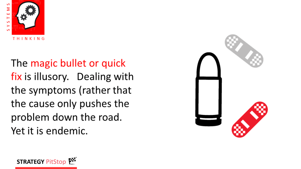looking for the magic bullet in sales or marketing?