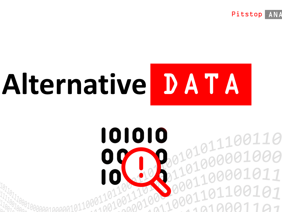 Alternative Data by Pitstop Analytics platform