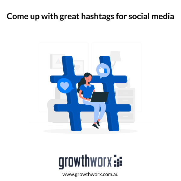 Come up with great hashtags for social media 1