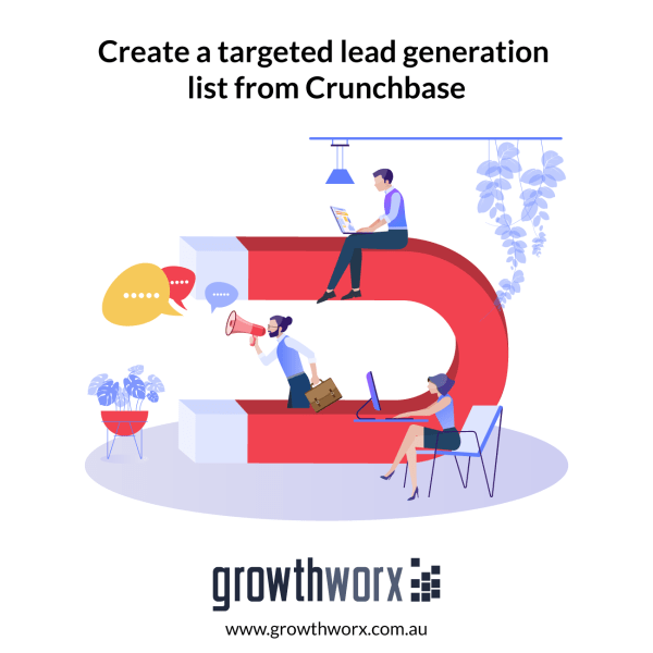 Create a targeted lead generation list from Crunchbase 1