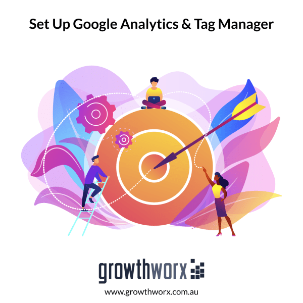 I will set up google analytics and tag manager 1