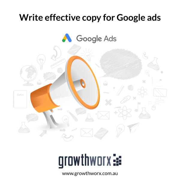 Write effective copy for Google ads 1