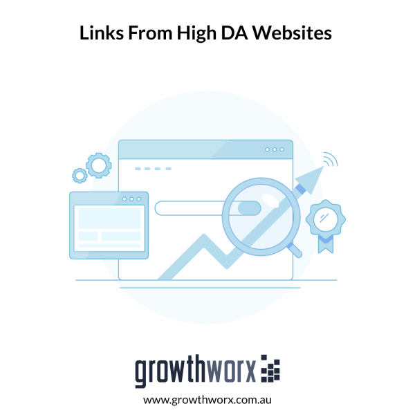 Create 10+ links from high domain authority websites to inrease your Google ranking 1