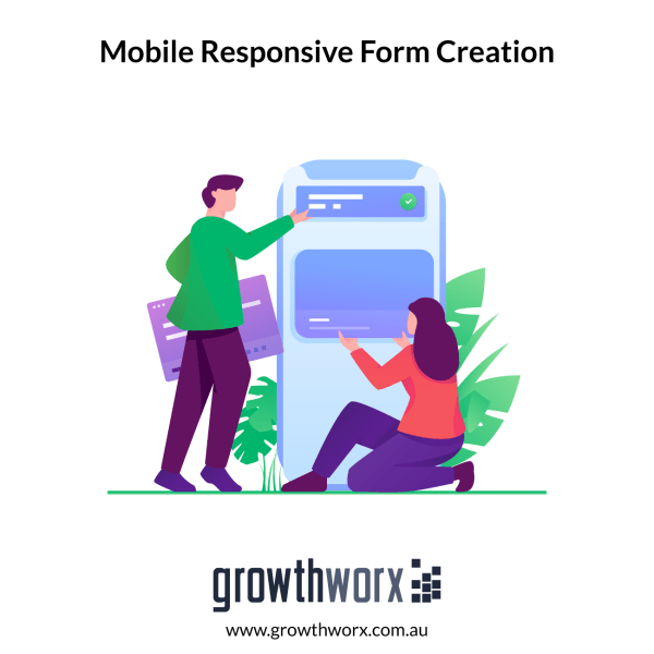 Create a mobile responsive form with up to 7 fields + two column form + with Google capatcha 1