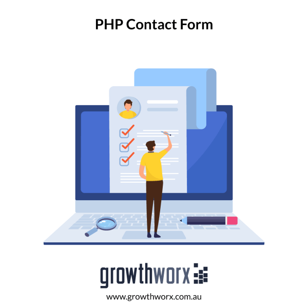 Create a php contact form with email script 1