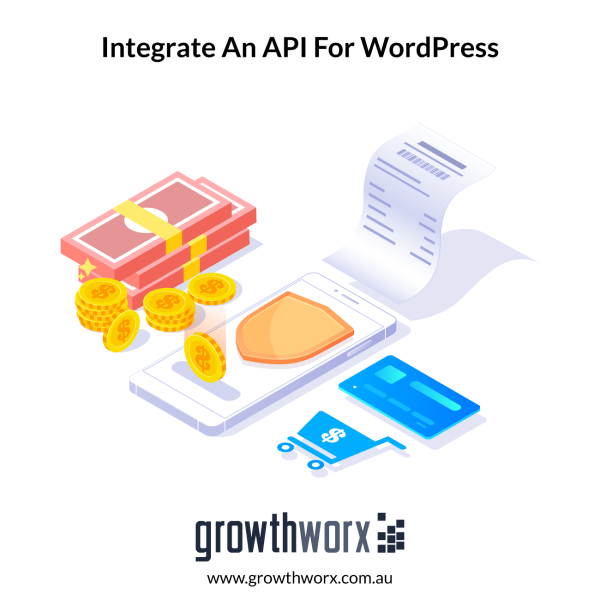 Create or integrate an API for your Wordpress website, and do debugging 1