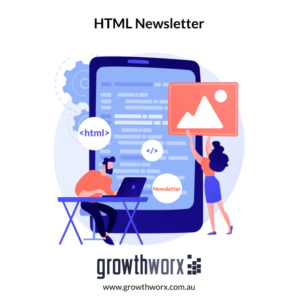 Design a HTML newsletter 1